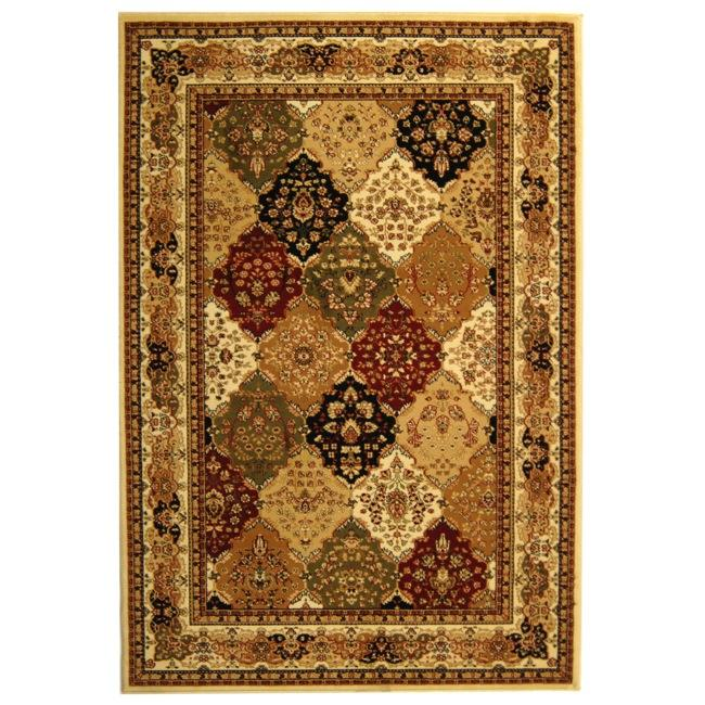 Safavieh Lyndhurst Collection Multicolor/ Ivory Rug (9' x 12')