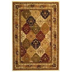 Lyndhurst Collection Multicolor/ Ivory Rug (9' x 12')