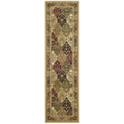 Lyndhurst Collection Multicolor/ Beige Runner (2'3 x 6')