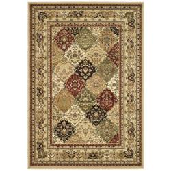 Safavieh Lyndhurst Collection Multicolor/ Beige Rug (9' x 12')