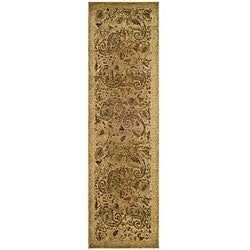 Safavieh Lyndhurst Collection Paisley Beige/ Multi Runner (2'3 x 12')