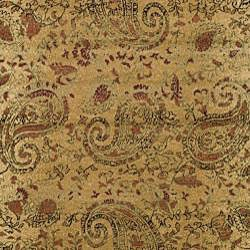 Lyndhurst Collection Paisley Beige/ Multi Rug (8' x 11')