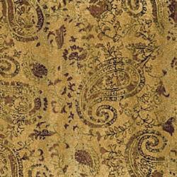 Lyndhurst Collection Paisley Beige/ Multi Rug (8' Square)