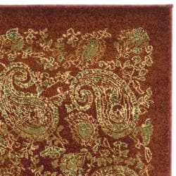 Lyndhurst Collection Paisley Red/ Multi Runner (2'3 x 8')