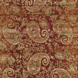 Lyndhurst Collection Paisley Red/ Multi Rug (6' x 9') Safavieh 5x8   6x9 Rugs