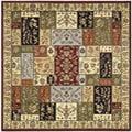 Safavieh Lyndhurst Traditional Multicolor/ Ivory Rug (6' Square)
