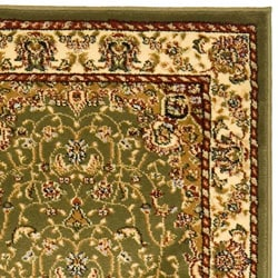 Lyndhurst Collection Sage/ Ivory Runenr (2'3 x 6')