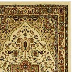 Lyndhurst Collection Ivory/ Rust Runner (2'3 x 12')