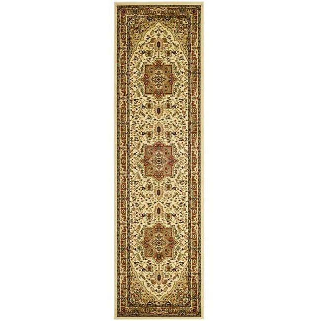 Safavieh Lyndhurst Collection Traditional Ivory/ Rust Runner (2'3 x 12')