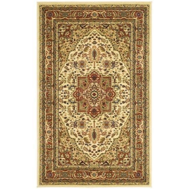 Safavieh Lyndhurst Collection Ivory/Rust Oriental Rug (3'3 x 5'3)