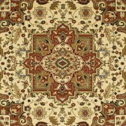 Safavieh Lyndhurst Collection Ivory/Rust Indoor Rug (8' Square)