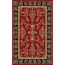 Safavieh Lyndhurst Collection Red/ Black Rug (4' x 6')