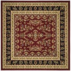 Safavieh Lyndhurst Collection Red/ Black Rug (6' Square)