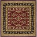 Safavieh Lyndhurst Collection Red/ Black Rug (6' Square)