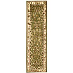 Safavieh Lyndhurst Collection Sage/ Ivory Runner (2'3 x 16')