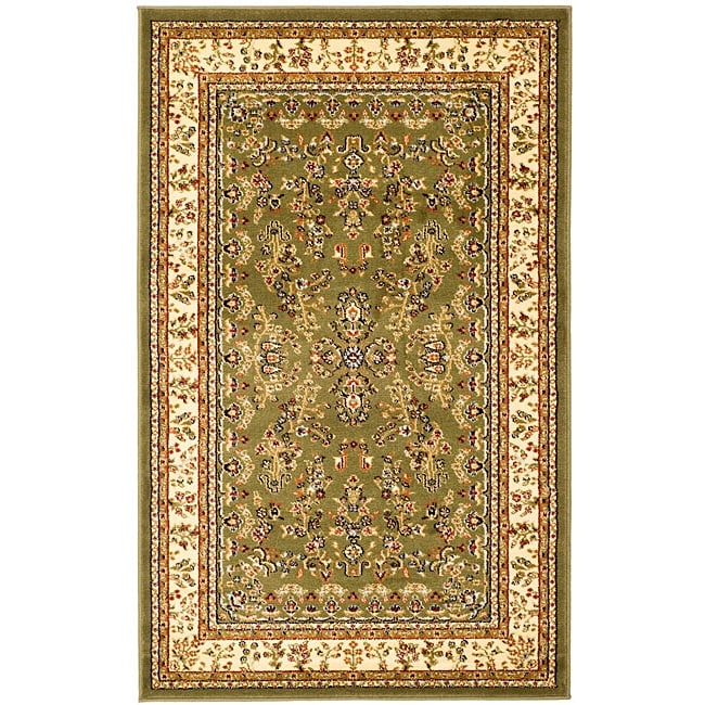 Lyndhurst Collection Sage/ivory Area Rug (4 X 6)