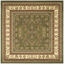 Safavieh Lyndhurst Collection Oriental-Print Sage/Ivory Rug (6' Square)