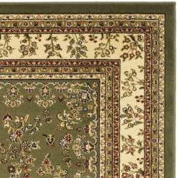 Lyndhurst Collection Sage/ Ivory Rug (8' Square)