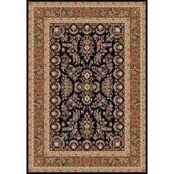 Safavieh Lyndhurst Collection Black/ Tan Rug (4' x 6')