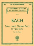 Bach: Two and Three Part Inventions for the Piano (Paperback)