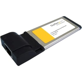 StarTech.com 1 Port ExpressCard Gigabit Laptop Ethernet NIC Network A