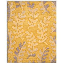 Hand-tufted Natalie Floral Wool Rug (7'9 x 9'9)
