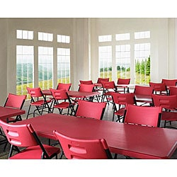 NPS Blow Molded Folding Chair and Table Set