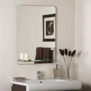Columbus Frameless Wall Mirror
