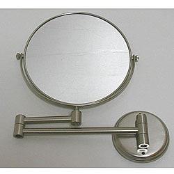 DeNovo Round Wall-mount Nickel Magnifier Mirrors (Case of 28)