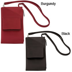 Travelon Cross-body Travel Wallet with Adjustable Shoulder Strap