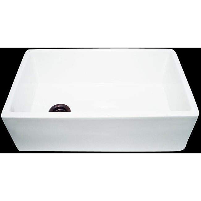 HighPoint Fireclay 30-inch White Farm Sink - Overstock? Shopping ...