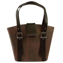 Recycled Plastic Redwine Highstreet Handbag (India)