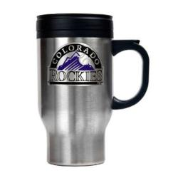 Colorado Rockies 16-oz Stainless Steel Travel Mug