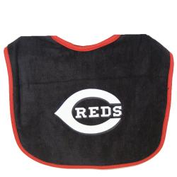 Cincinnati Reds Black Lil Fan Baby Bib