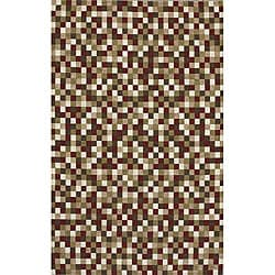 Tuscany Multi-color Geometric Rug (9'10 x 13'7)