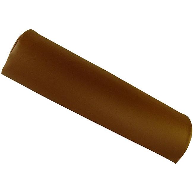 Half Round Massage Table Chocolate Brown Bolster
