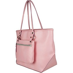 Made in Italy Desmo Pink Leather Tote