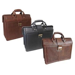 Amerileather Leather Legal Executive Briefcase