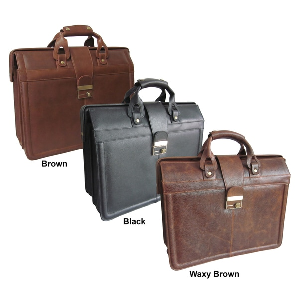 Amerileather Leather Legal Executive Briefcase