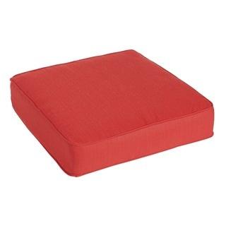 Clara Wicker / Sunbrella Fabric Indoor/ Outdoor Cushion
