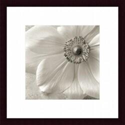 'Poppy Study II' Wood Framed Art Print