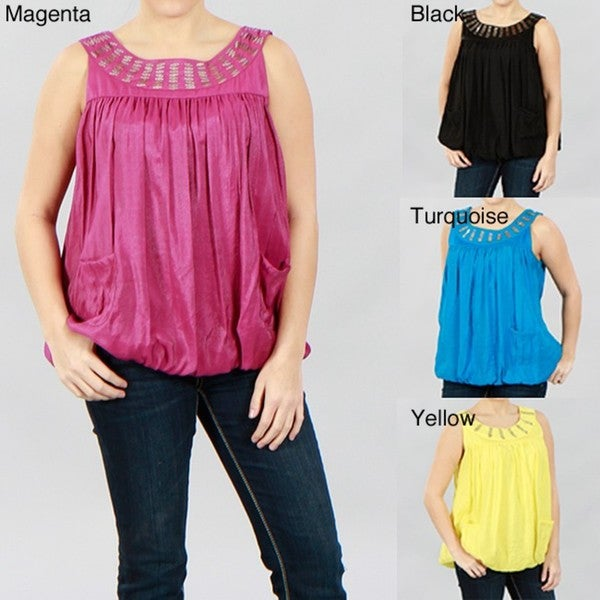 Kaelyn Max Round Neck Line Top