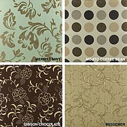 22-inch Outdoor Throw Pillows with Sunbrella Fabric (Set of 2) - Designer