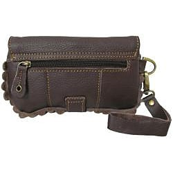 Amerileather Emi Leather Wristlet