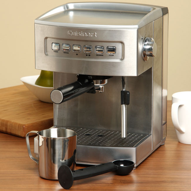 Cuisinart EM-200FR Programmable 15-bar Espresso Maker (Refurbished)