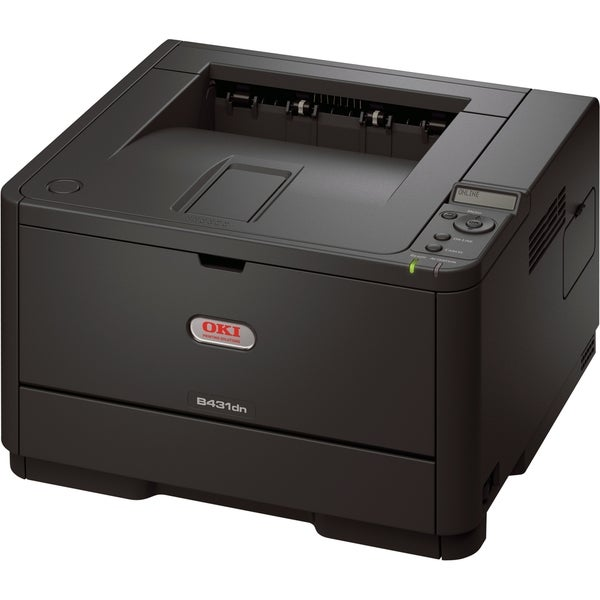 Oki B431DN LED Printer - Monochrome - 1200 x 1200 dpi Print - Plain P