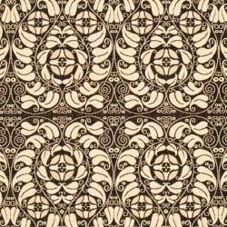 Indoor/Outdoor Traditional-Pattern Black/Sand Rug (7'10