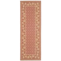 Safavieh Indoor/ Outdoor Rust/ Sand Runner (2'4 x 6'7)