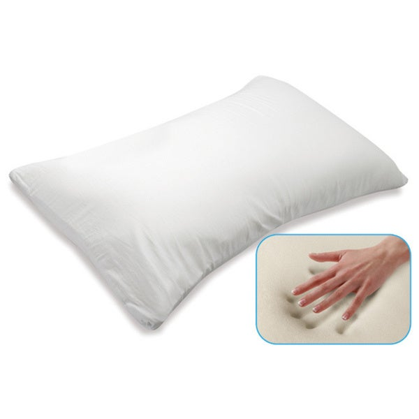 Perfect Pillow Memory Foam Traditional Bed Pillow : Sarah Peyton Home Collection Queen-size Memory Foam Traditional Pillow - 12922331 - Overstock ...