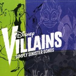 Various - Disney Villains: Simply Sinister Songs